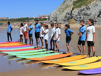L'école de surf d'Ilbarritz